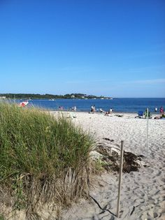 Crescent Beach State Park Cape Elizabeth Maine...oh boy, spent all summer on this beach as a teenager!