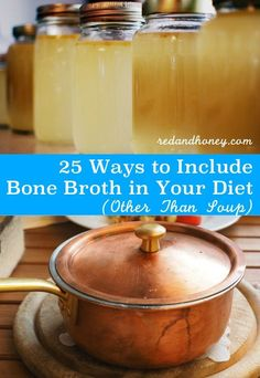 Homemade bone broth is an incredibly nourishing, gut-healing, all-around great addition to your diet. But soup, soup, and more soup can get tiring. These suggestions are perfect!
