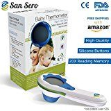 #1 Digital Baby Thermometer - With 5 Star Rating - Using (IR) Non-Contact Technology.