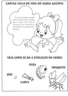 Ensinando com Carinho: Atividades sobre a dengue