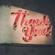Neon 'thank you' - Google Search