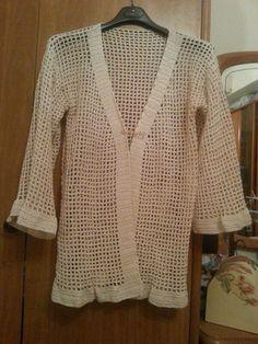 Cardigan kimono in cotone