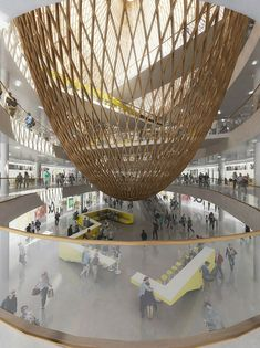 Paris Shopping Mall Design by Agence SEARCH