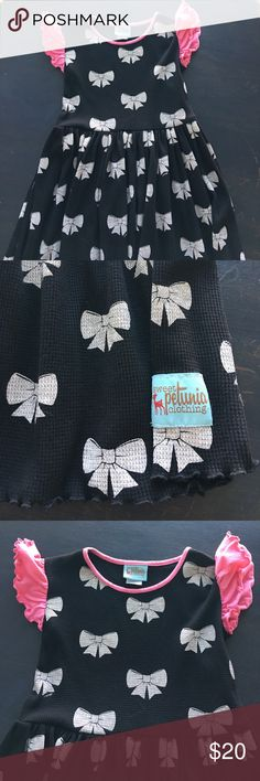 Sweet Petunia Bow Dress Excellent condition! Like new! sweet petunia Dresses Casual