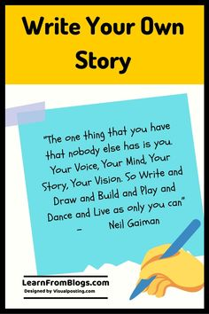 write your own story - Explanation of Quotes I Feel Bored, Bored At Work, Write Your Own Story, Your Story, Emotional Intelligence Leadership, Life Happens, Shit Happens, Adventurous Things To Do, Confidence Level