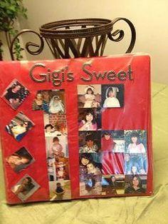 A Sweet Sixteen Scrapbook