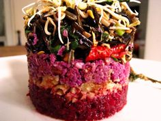 Goji Coleslaw - beetroot salad, crushed walnuts, wild rice venugreek sprout