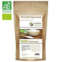 Psyllium Bio (téguments) – 500 gr: Téguments de Psyllium Blond Bio 500gr Produit issu de l'agriculture biologique Riche en fibres douce Cet…
