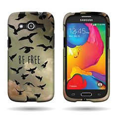 Samsung Galaxy Avant Case, CoverON® 2-Piece Snap On Design Hard Case Cover - Free Bird CoverON http://www.amazon.com/dp/B00P1F8ZGK/ref=cm_sw_r_pi_dp_Y8o6ub1J65CJS
