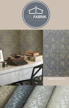 rasch-textil sahara-100626 beige-braun ornament-muster vliestapete ... - Wohnzimmer Beige Gold
