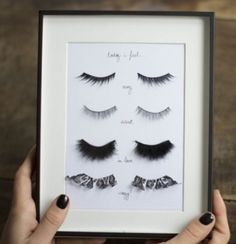 Hmmm.  Options ! #beauty #fashionista #eyelashes #options #style #glam #lifestyle #SITACouture