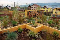 adelaparvu.com despre acoperis verde la Berca, gradina pe acoperis, design si executie Arta Gradinilor (1)