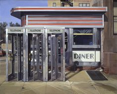 "Richard Estes, ""Diner,"" 1971, oil on canvas, Hirshhorn Museum and Sculpture Garden, Smithsonian Institution, Museum purchase 1977. © Richard Estes, courtesy Marlborough Gallery, New York. Photo by Lee Stalsworth."