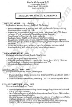 nurse resume registered nurse resume service - Resume Registered Nurse