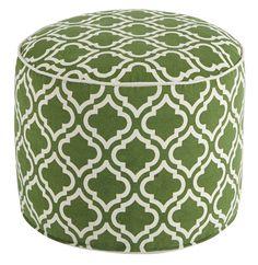 Geometric Pouf Ottoman
