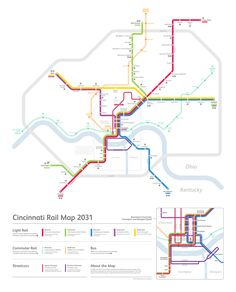 Question: Do you do theoretical maps? Because I'd love to see one of Cincinnati. Asked by notsammyv. —— Transit Maps says: This is the only future/theoretical map of Cincinnati you ever really need to see. It was made by Michael Tyznik, the same guy who created that amazing Game of Thrones transit map recently. Not only does it look awesome, but it's firmly grounded in reality – the map shows what would have been constructed by 2031 if the MetroMoves ballot had been ...