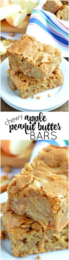 These Chewy Apple Peanut Butter Bars are simple to make and are loaded with…