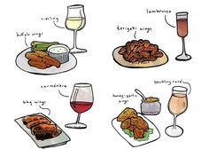 Uncorking a beautiful bottle of wine to eat with hot wings isn't exactly a common mental image. But believe it or not, pairing wine and wings is easier and tastier than you'd expect! Boot Camp, Lemon Pepper Wings, Wine Folly, Wine Tasting Experience, Need Wine, Bbq Wings, Different Wines, Cheese Pairings, Wine Education