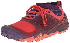Merrell Womens All Out Terra Trail Trail Running Shoe Wild PlumRed 65 M US * Visit the image link more details.(This is an Amazon affiliate link)