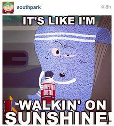 Just let me walk on the sunshine a lil longer...