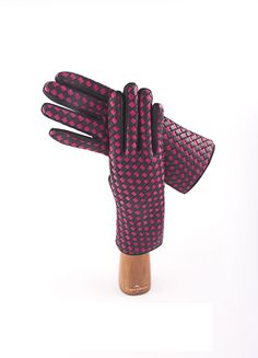 Leather Capri Gloves. For woman
