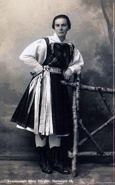 Gailtaler Tracht, um 1910