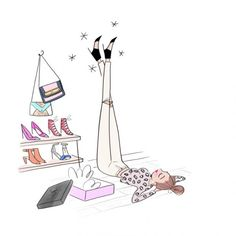 illustration magalie F chaussures.jpg - Magalie F | Virginie