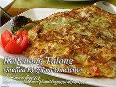 Thanks to the simplicity of this stuffed eggplant because this recipe is easy to cook. And the ingredients are very basic and few. Stuffed Eggplant, Omelette, Vegetable Dishes, Lasagna, Vegetables, Cooking, Ethnic Recipes, Easy, Food