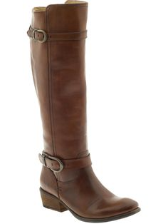 Brown riding boots...swoon!