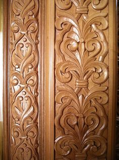 Woodcarving Slab Doors Wood Carving Tree Carvings Carved Woodworking Projects
