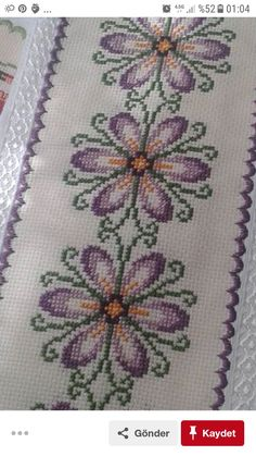 Donna Andrews's media content and analytics Cross Stitch Pillow, Cross Stitch Rose, Cross Stitch Borders, Cross Stitch Flowers, Cross Stitch Designs, Cross Stitching, Cross Stitch Patterns, Beaded Embroidery, Hand Embroidery