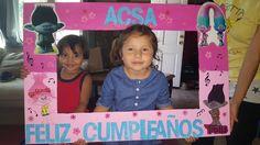 Feliz Cumpleanos -Trolls Photo Board