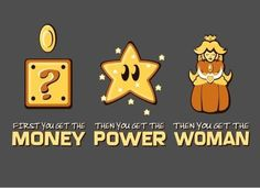 Money .. Power ... Woman