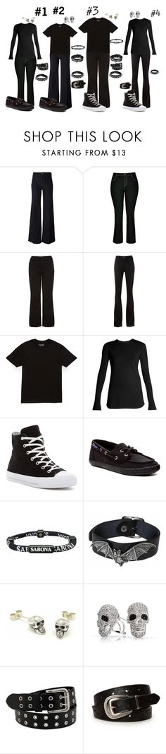 """Emo: TV Outfits"" by sierra-ivy on Polyvore featuring PS Paul Smith, City Chic, New Look, M.i.h Jeans, Vince, Converse, Sperry, Sabona, Fou Jewellery and Bling Jewelry"