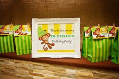 Piece of Cake: Ethan's 5th Birthday ~ Monkey/Jungle Party