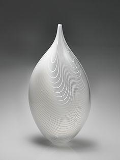"""13. Lino Tagliapietra Untitled, 1999 19 x 9.5 x 5"""" Sold"""