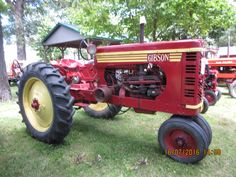 1949  Gibson tractor,