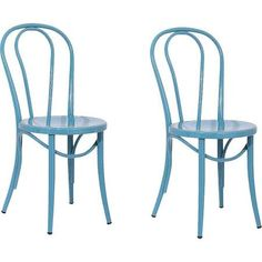 Dining Chair: Bistro Dining Chair - Blue (Set of 2)