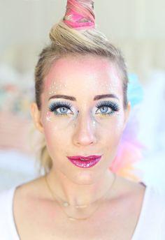 halloween unicorn makeup   inspiration   Pinterest ...