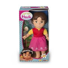 Juguete HEIDI MUÑECA de Famosa Precio 28,12€ en IguMagazine #juguetesbaratos