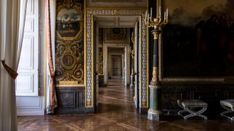 The Dauphin and the Dauphine's apartments Versailles Hall Of Mirrors, Hall Mirrors, Palace Of Versailles, Louis Xiv, Palais Des Tuileries, Terrace Design, Second Empire, St Helena, Billiard Room