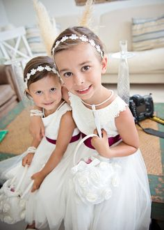 Flower Girls .. COULD BE VIANEY &GENESIS&ANOTHER DRESS FOR SOPHY