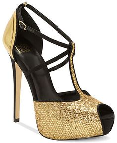 Truth or Dare by Madonna #shoes #pumps #giltter #macys BUY NOW!