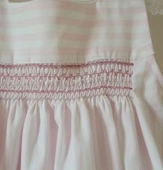 Summer dress   Pink smocks