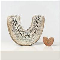 Deux sculptures by Alan Wallwork
