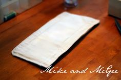 How to make cloth diaper inserts for my Gdiapers