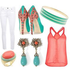 Cute Outfit for Spring & Summer fashion summer spring style accessories outfit