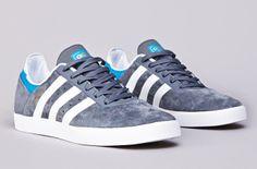"adidas Skateboarding Busenitz ADV ""Lead & Solar Blue"""