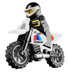 Legoman rides a G/S PD