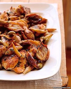 Roasted Chicken and Jerusalem Artichokes-- One of my all-time-favorite ...